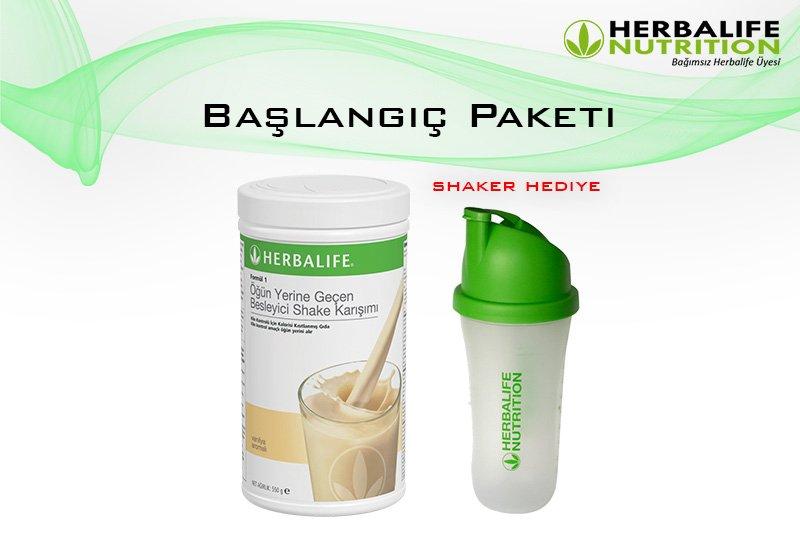 Herbalife Nutrition Başlangıç Paketi