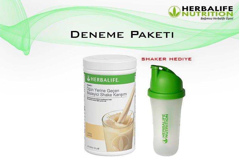 Herbalife Nutrition Deneme Paketi