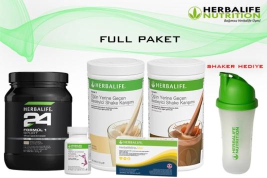 Herbalife Nutrition Full Paket (Kilo Almak İçin)