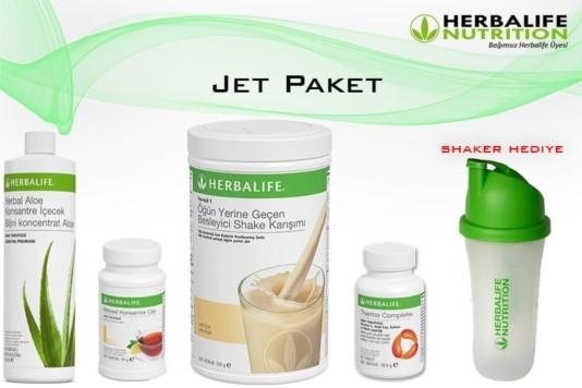 Jet Paket (Kilo Verme)