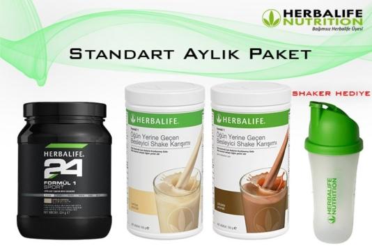 Herbalife Nutrition Standart Aylık Paket