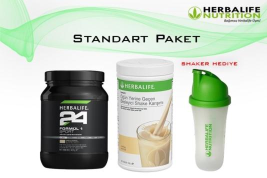 Herbalife Nutrition Standart-1 Paket (Kilo Almak İçin)