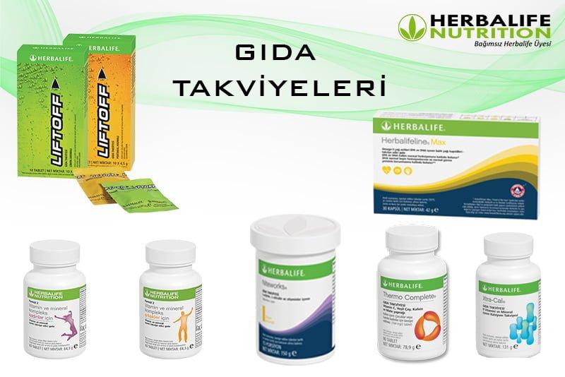 Herbalife Nutrition GIDA TAKVİYELERİ