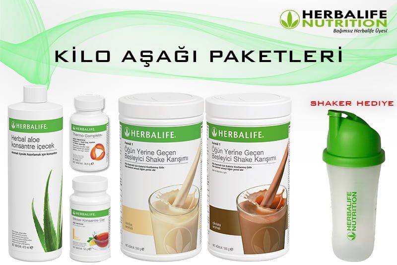 Herbalife Nutrition KİLO AŞAĞI PAKETLERİ