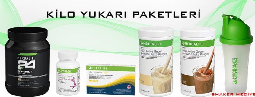 Herbalife Nutrition KİLO YUKARI PAKETLERİ